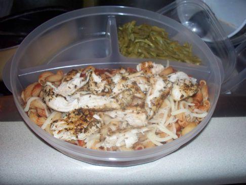 Taryn's Healthy Chicken Parmesan