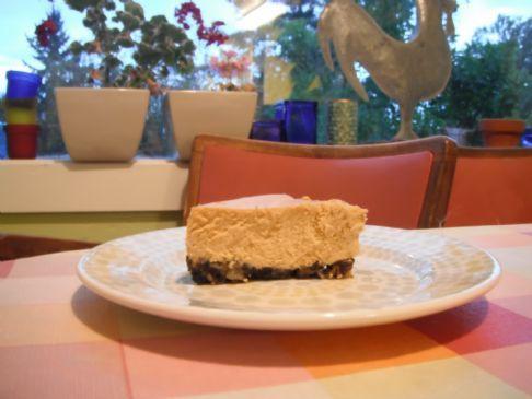 Maple-Pumpkin Cheesecake