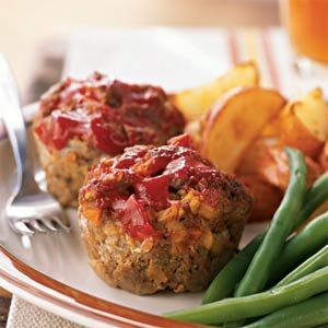 Mini Turkey Meatloaves