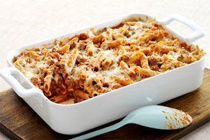 Easy Italian Pasta Bake (similar to Kraft recipe)