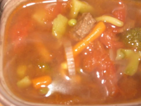 Low Cal, Low Fat, Mock Beef Soup