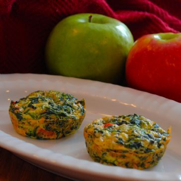 Crustless Spinach Quiche *Breakfast to Go*