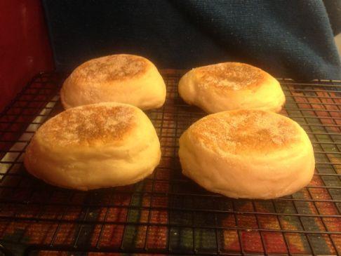 Gary's Overnight English Muffins