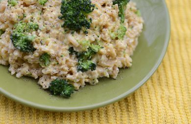Broccoli & Cheese Rice