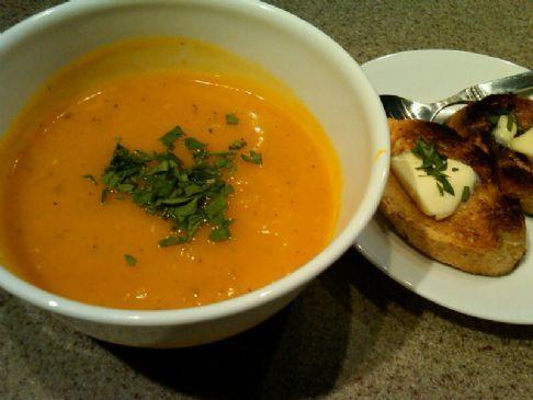 Zuppa de Zucca (Roasted Butternut Squash Soup)