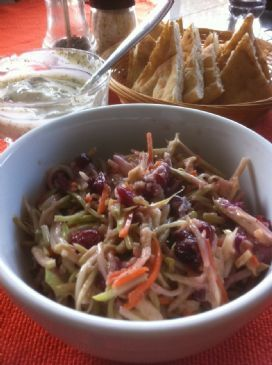 Broccoli Cranberry Slaw