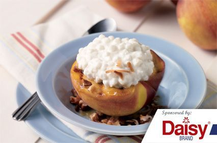Grilled Peaches with Cottage Cheese from Daisy Brand®
