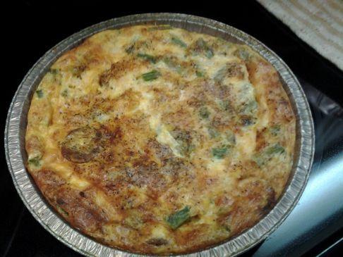 Asparagus Quiche (Crustless)