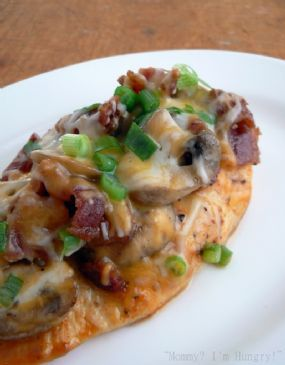 Bacon Mushroom Honey Dijon Chicken