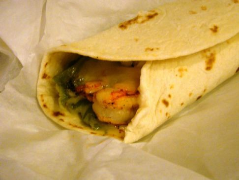 shrimp curry wraps