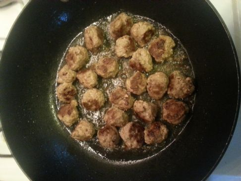 Crockpot Swedish Meatballs