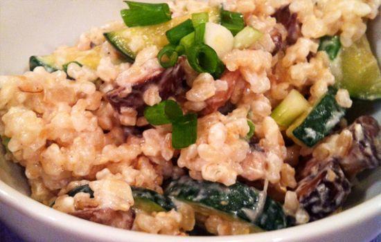 Creamy Brown Rice