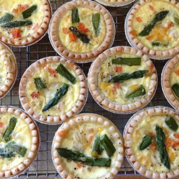how to cook mini quiches