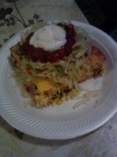 Southwest Omlette bake