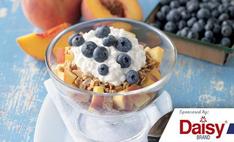 Peach Blueberry Parfaits from Daisy Brand®