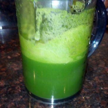 Mean Green Juice Fast Recipe(less bitter taste)
