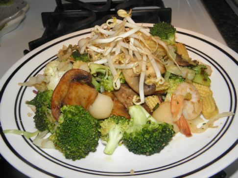 Shrimp Stirfry