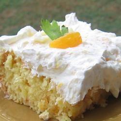 Orange Sunshine Cake
