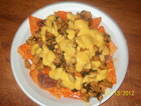Calories Chicken Nachos Mexican Restaurant