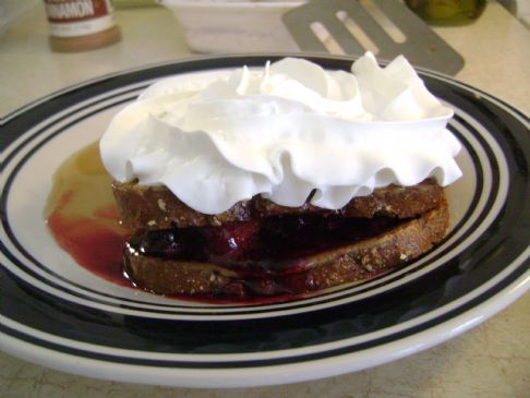 Berry Filled Cinnamon French Toast