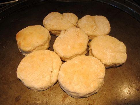 Texas Cowboy Buttermilk Biscuits