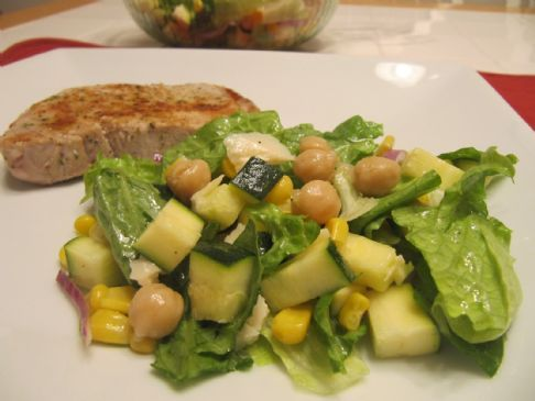 Three Sisters Salad ~ Native American Dish