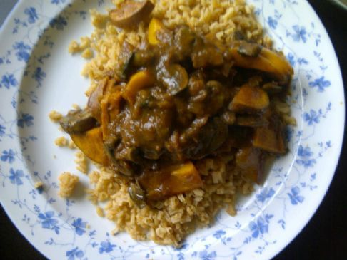 Lazy Vegan Indian Curry