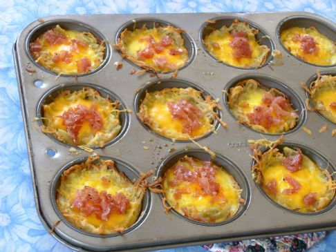 Sunny Anderson's Eggs in Baskets