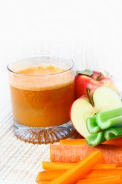 Fresh fruit/veg juicer juice