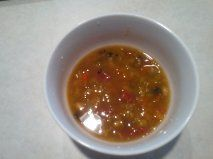 Dianna's Lentil and white bean soup with a kick