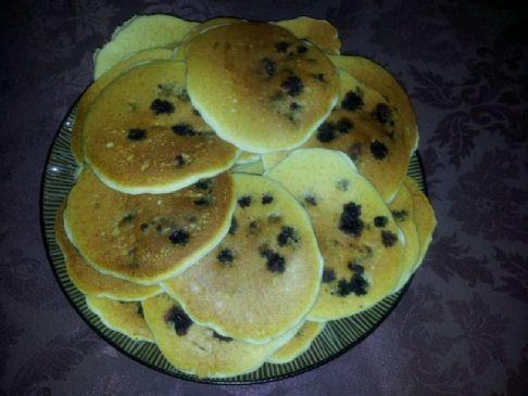 HealthierLynn's Blueberry Pancakes