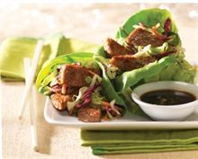 Asian-Style Lettuce Wraps Recipe