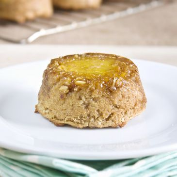 Pineapple Upside-down Baked Oatmeal