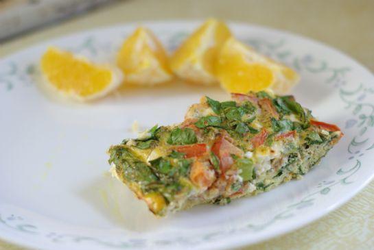 Egg loaf (breakfast meatloaf)