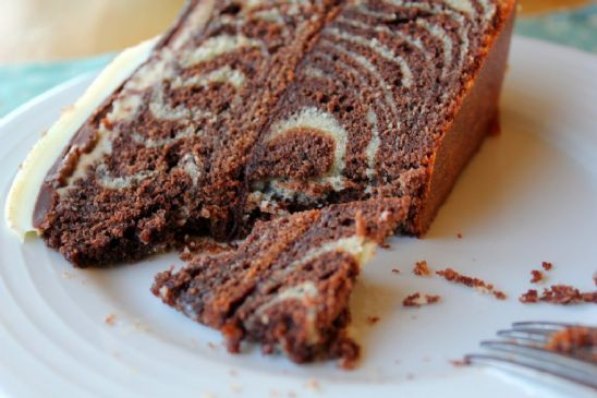 Zebra cake (marble)