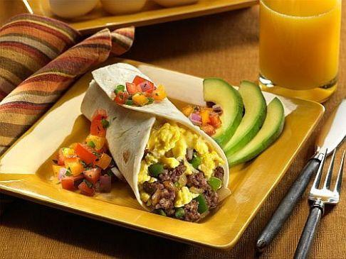 Jump-Start Make-Ahead Breakfast Burrito