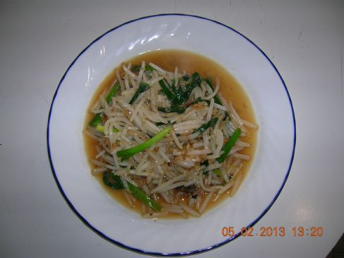 Stir Fry Bean Sprouts