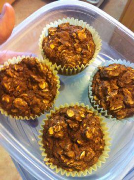 Nutty Pumpkin Vegan Protein Muffins