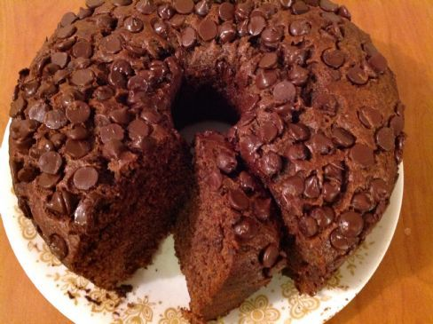 Banana Chocolate Cake, Vegan
