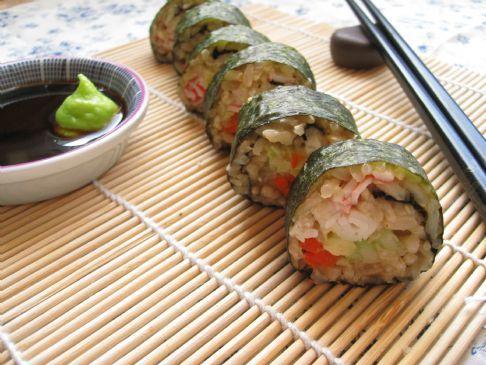 Nori Sushi Rolls RECIPE