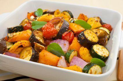 Zucchini Eggplant Parmesan