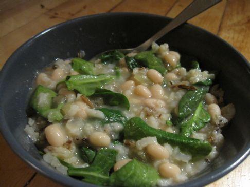 Spicy White Bean Soup
