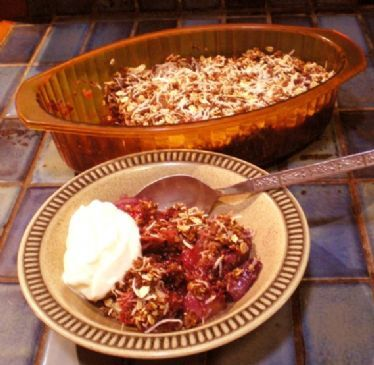Special Apple Berry Crumble