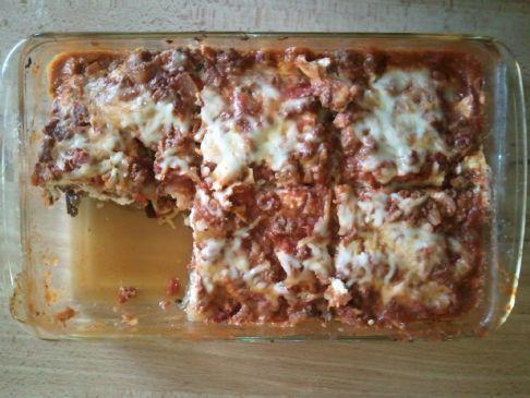 Kimichelle's Lowcarb Eggplant Lasagna
