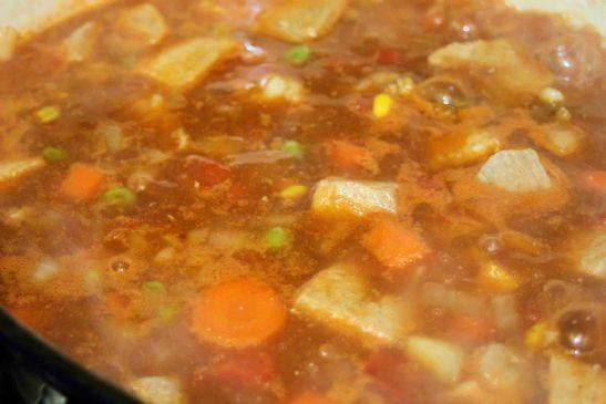 Vegetable Pork Soup