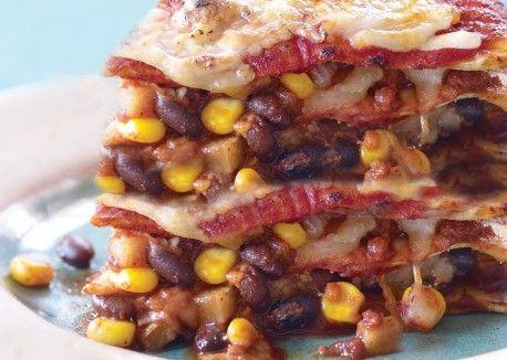 Vegetarian Times Tortilla Lasagna