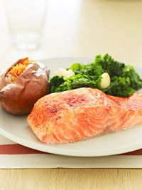 Smoky Maple-Rubbed Salmon