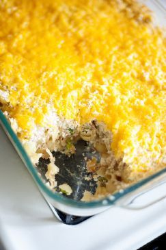 Easy Cheesy Tuna Noodle Casserol