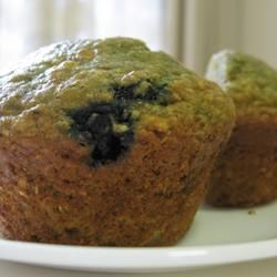 Health Nut Blueberry Muffins