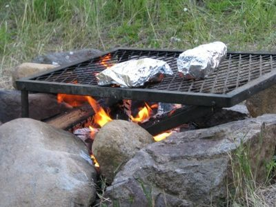 Camp Fire Potato Sacks